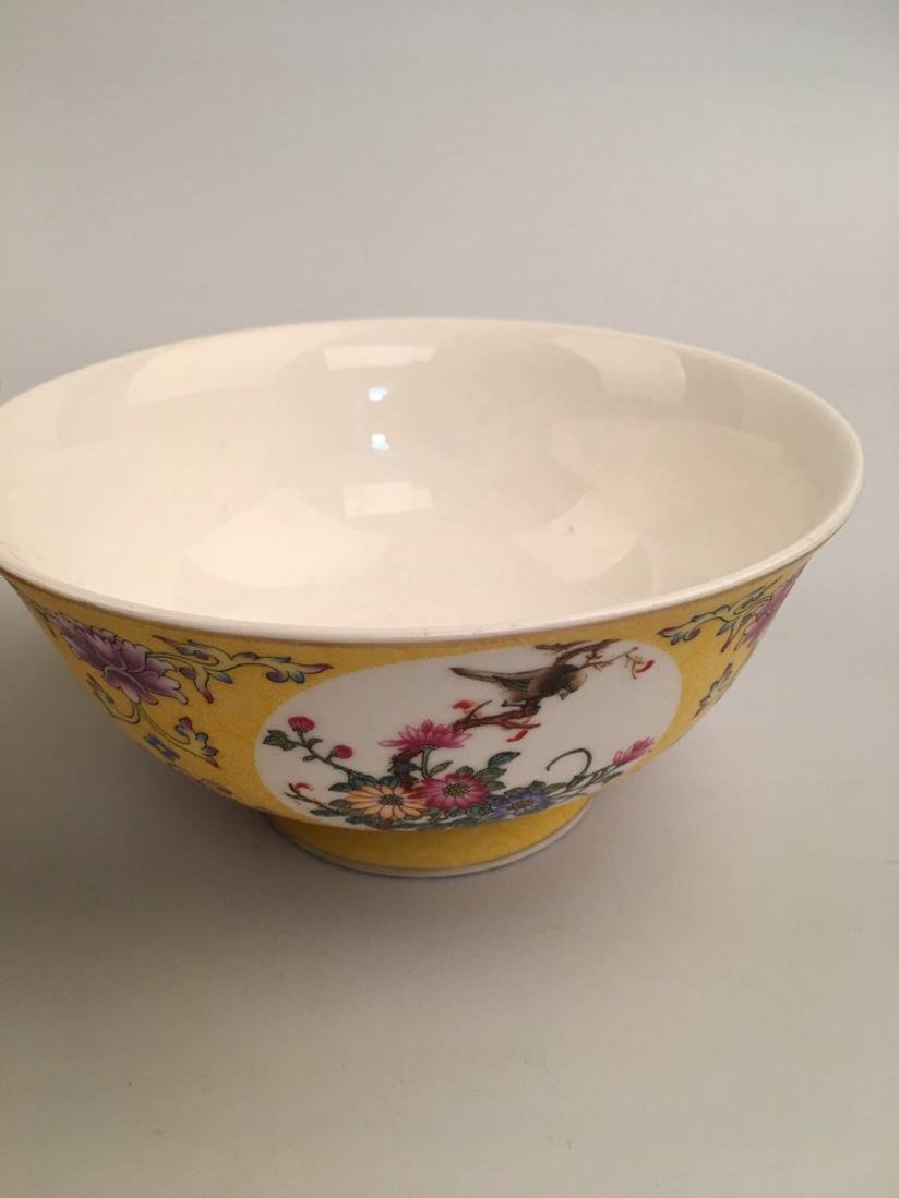 A Pair Famille Rose Flower Bowl - 5