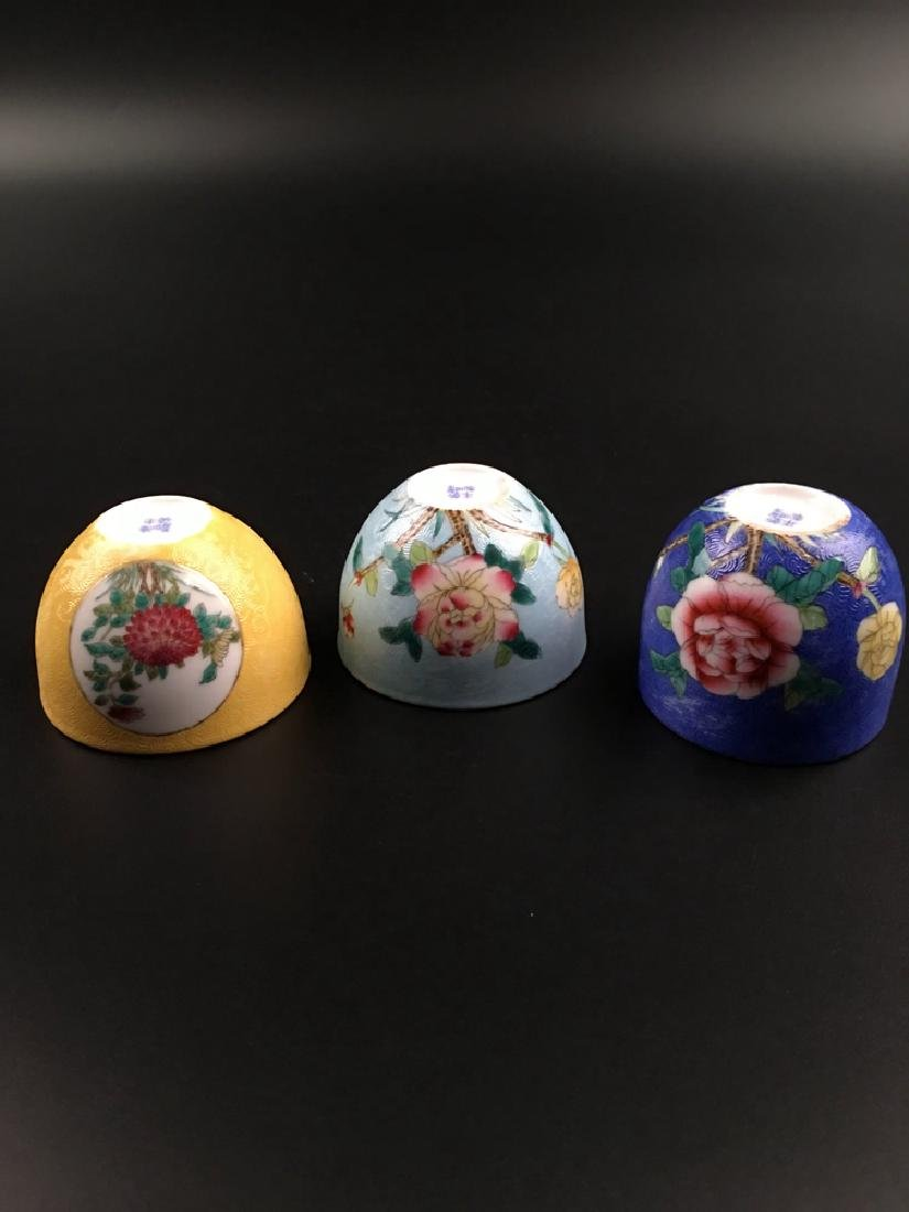 Fine Chinese Famille Rose Porcelain Wine Cup