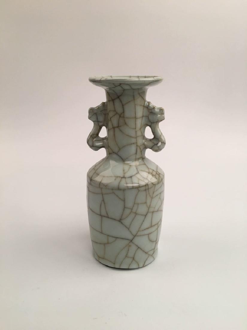 Chinese Kuan Type Porcelain Vase