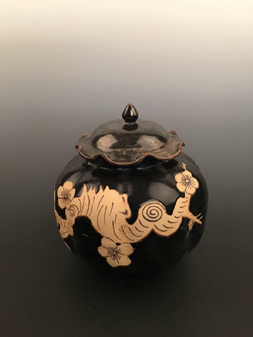 Chinese Jizhou Yao Porcelain Jar
