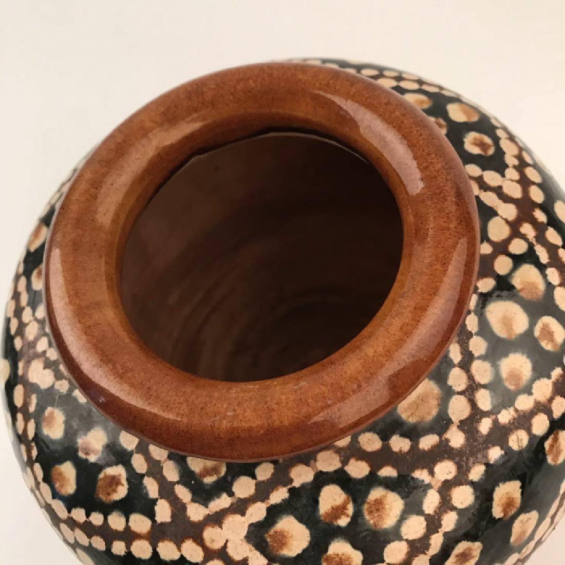 Chinese Sancai Pottery Jar - 7