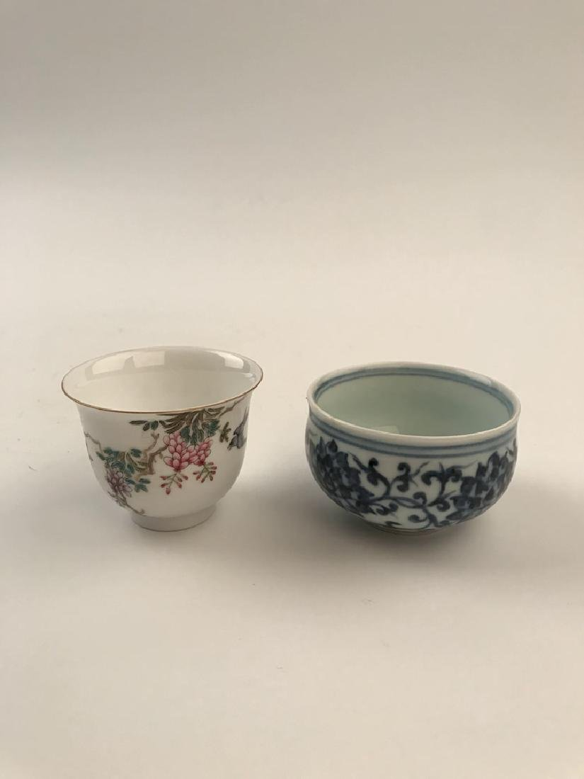Two pieces Chinese Tea Cups