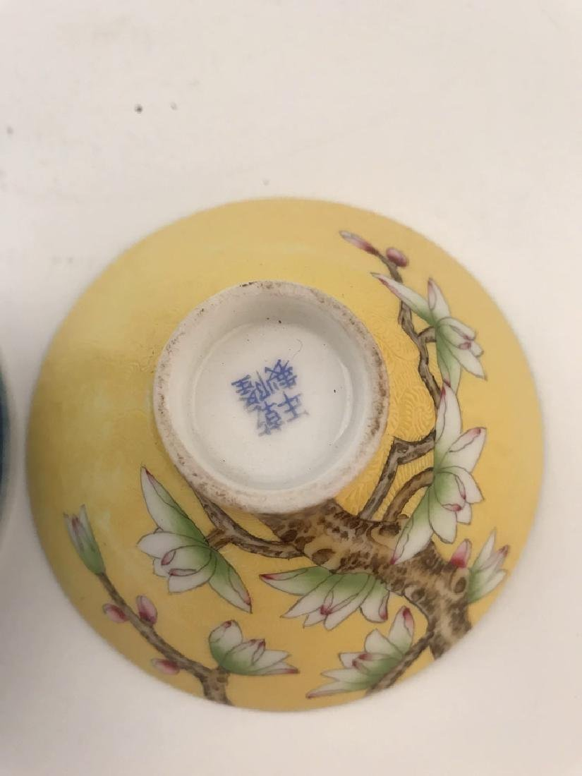 Two Piece Chinese Tea Cup - 7