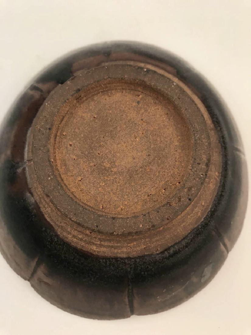 Chinese Brown Glazed Bowl - 5