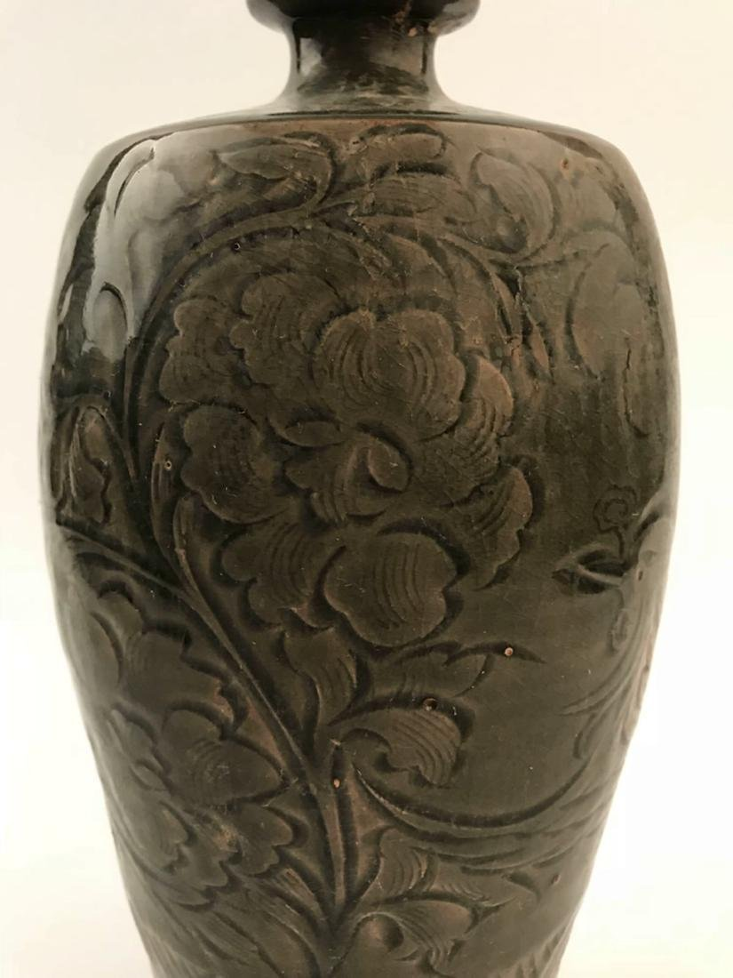 Chinese Celadon Glazed Flower Vase - 2