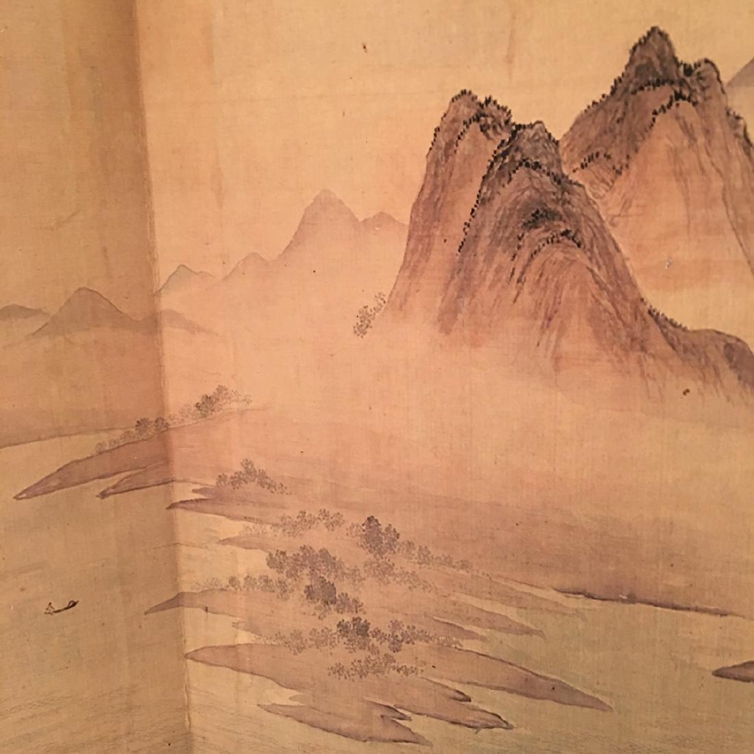 Chinese Folded Painting Album Of Hu Shan Chun Nan Tu - 9