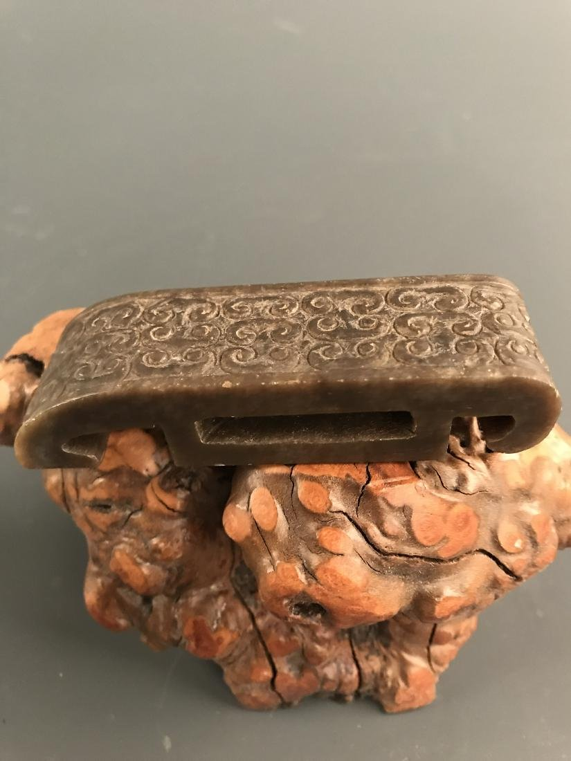 Chinese Jade Belt Buckle
