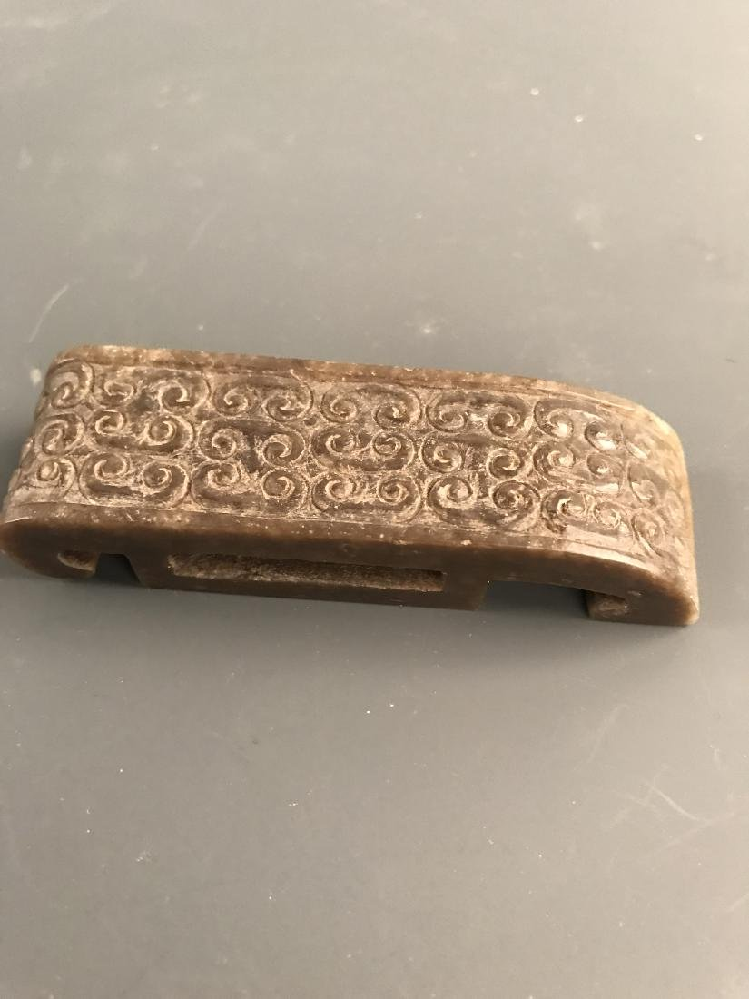 Chinese Jade Belt Buckle - 6
