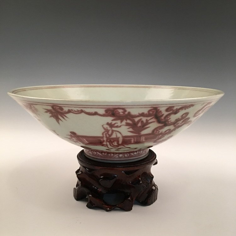 Chinese Coppeer Red Bowl
