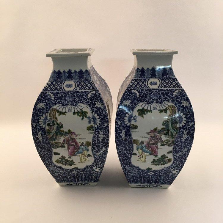 Fine Chinese Fammille Rose Vase