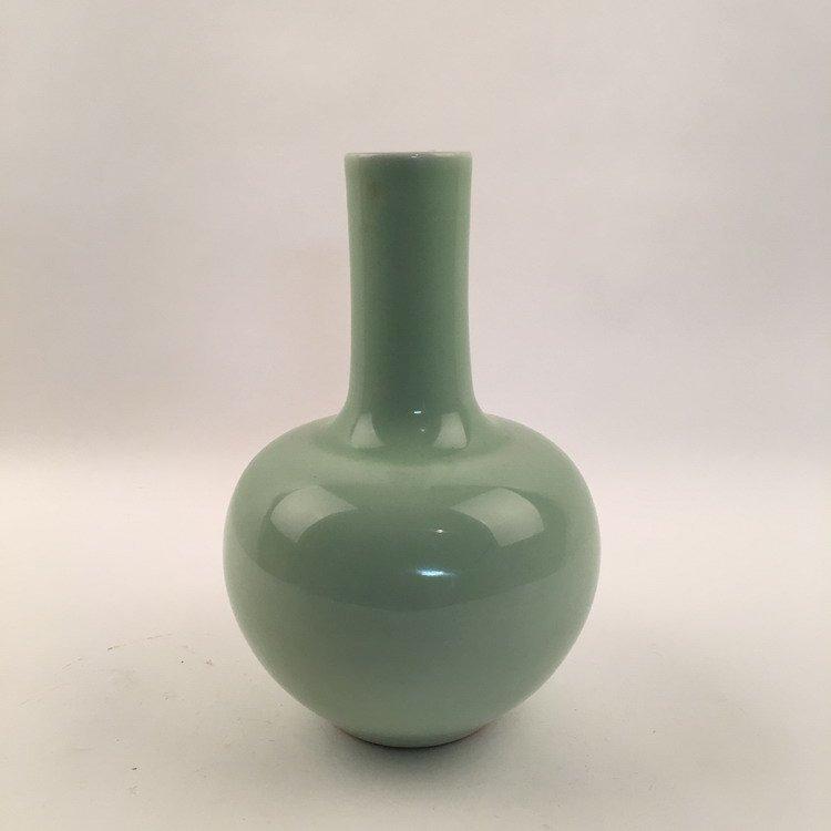 Fine Apple Green Vase