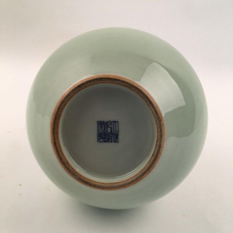 Fine Apple Green Vase - 3