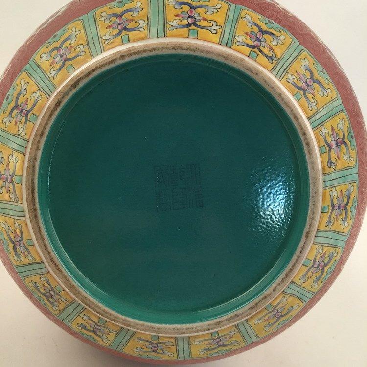Fine Chinese Famille Rose Vase - 5