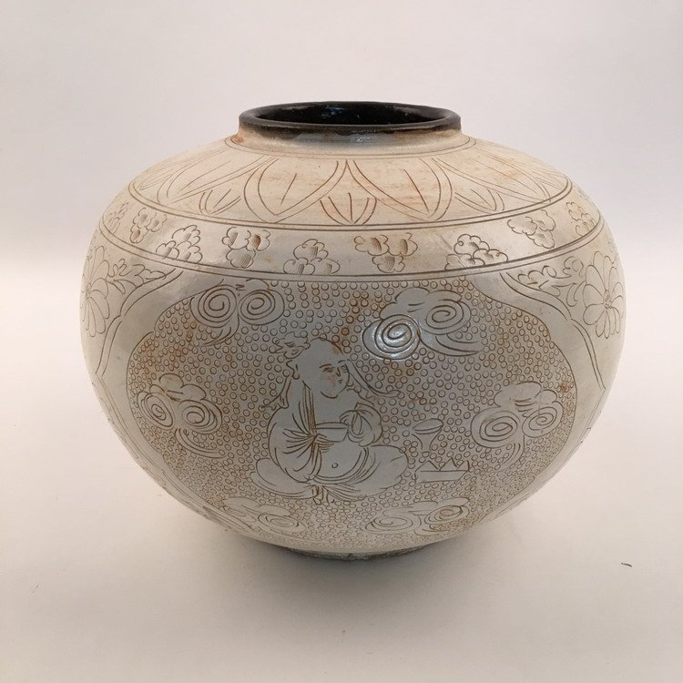 Chinese Song style Jar - 5