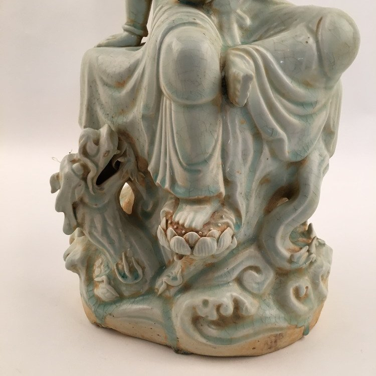 Fine Song Porcelain Guanyin Statue - 3