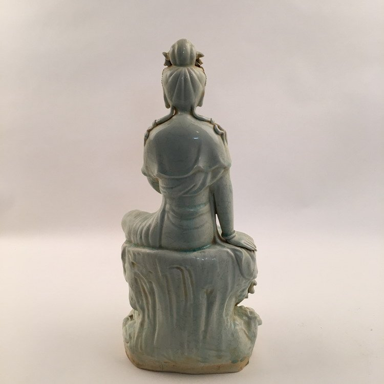 Fine Song Porcelain Guanyin Statue - 5