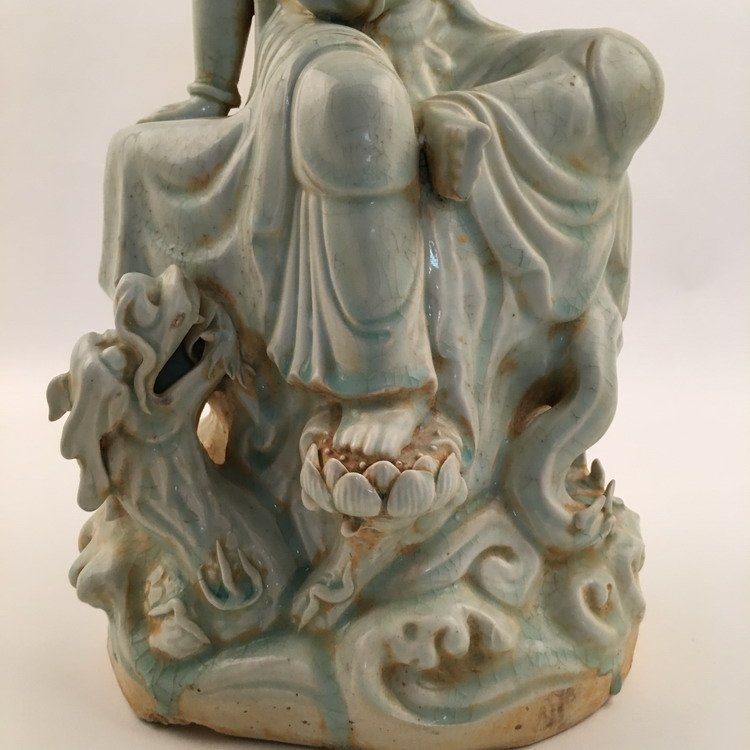 Fine Song Porcelain Guanyin Statue - 7