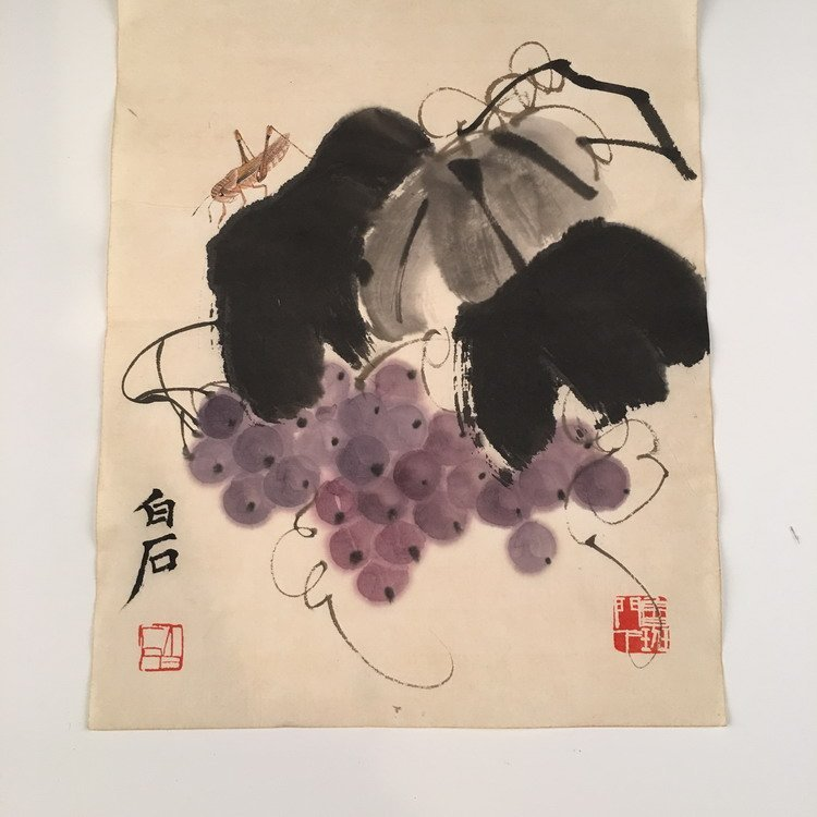 Chinese Watercolor Painting By BaiShi - 2