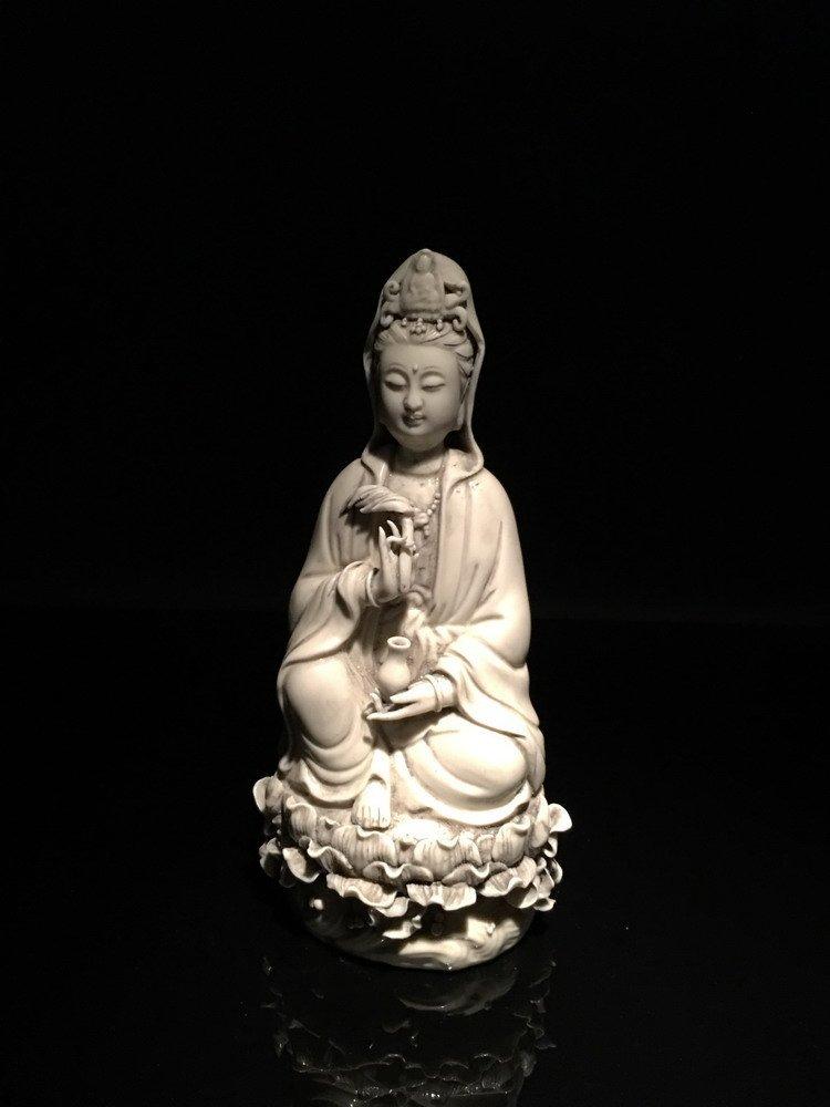 Fine Chinese Dehua Yao Guanyin