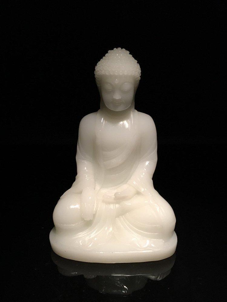 Fine Peiking Glass Buddha - 7