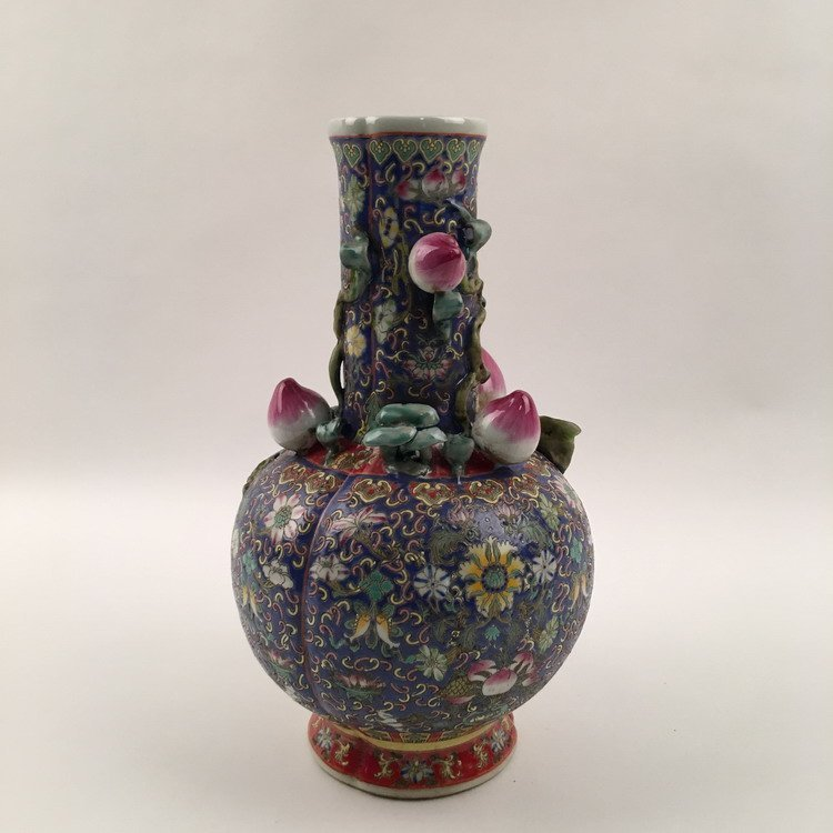 Fine chinese Famille Rose Vase - 4