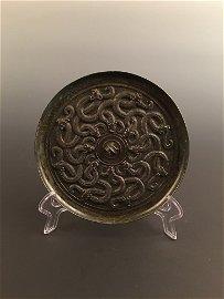 Chinese Han Style Dragon Mirror