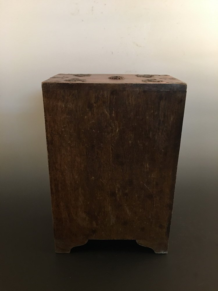Fine Chinese Wood Jewelry Box - 5
