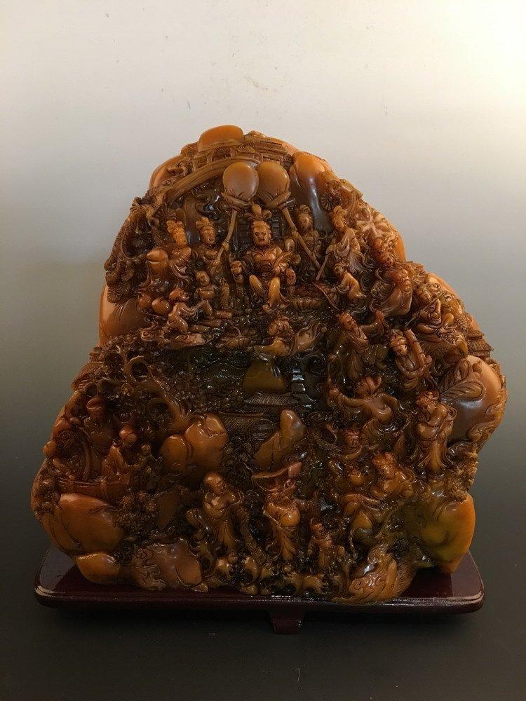 Chinese Shoushan Stone Carving - 6