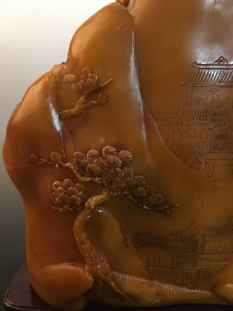 Chinese Shoushan Stone Carving - 9