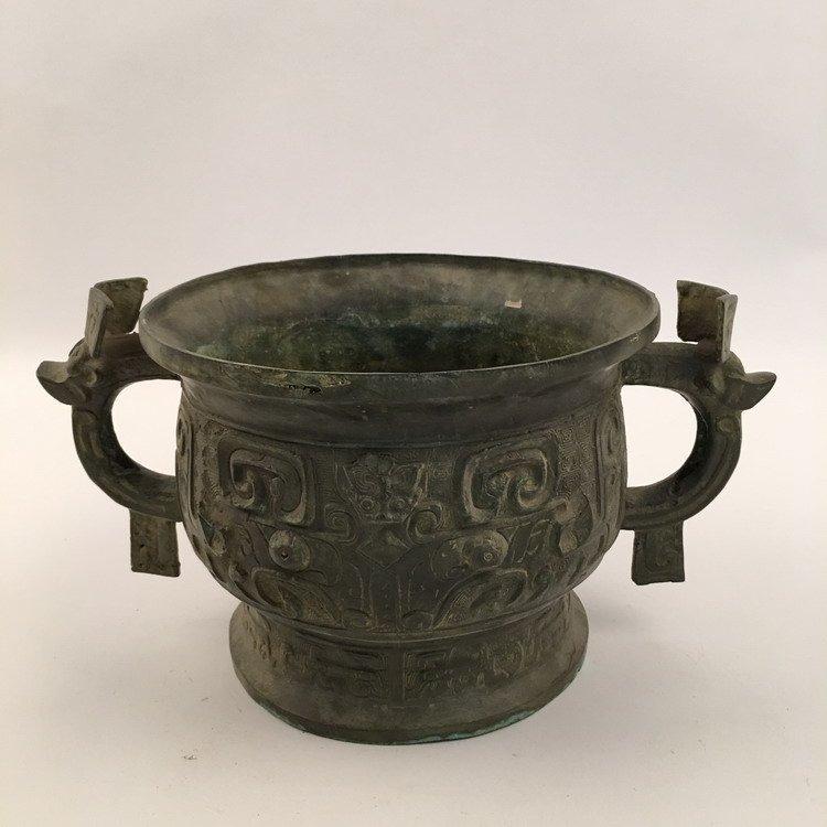Chinese Zhou Bronze Vessel