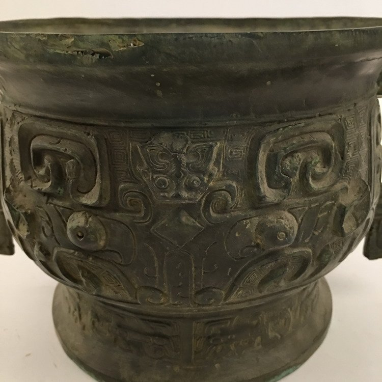 Chinese Zhou Bronze Vessel - 2