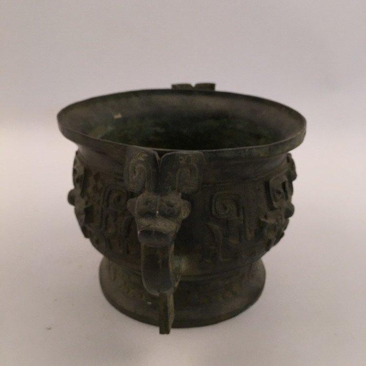 Chinese Zhou Bronze Vessel - 3