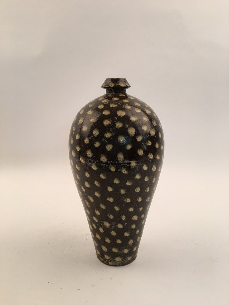 Chinese Song Style Dots Vase