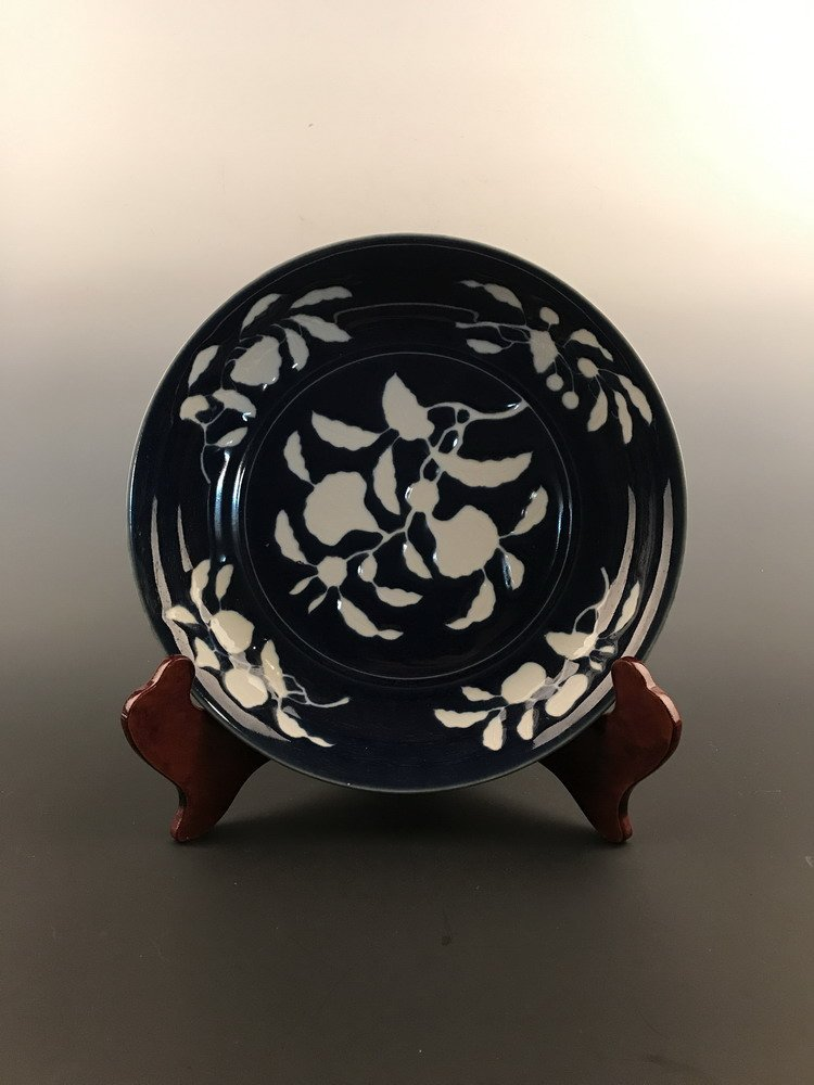 Fine Blue and White Charge with Xuande Mark