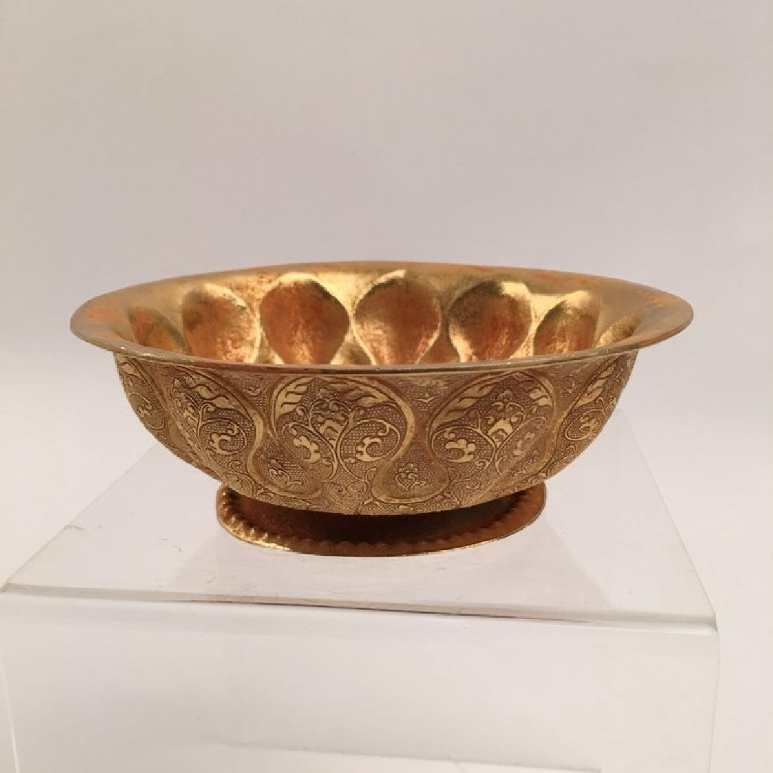 Chinese Tang Style Gilt Bronze Bowl