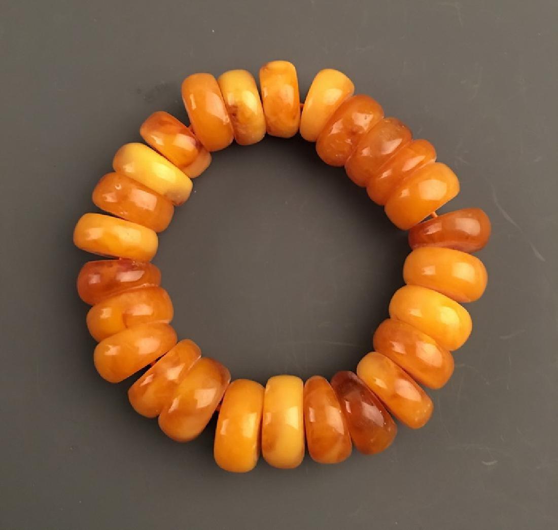 Fine Amber Bracelace