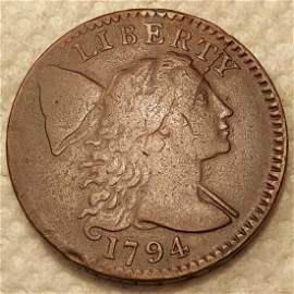 1794 1C NICE VF