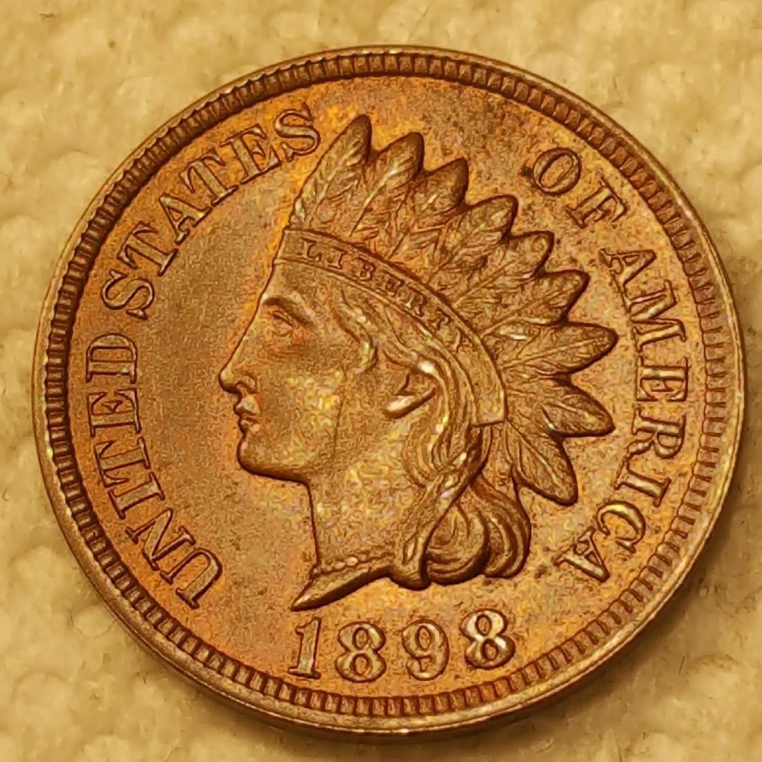 1898 1C MS63 RB