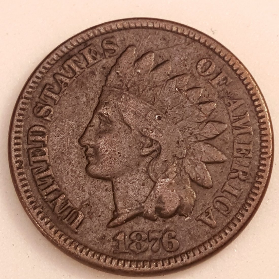 1876 1C F-VF