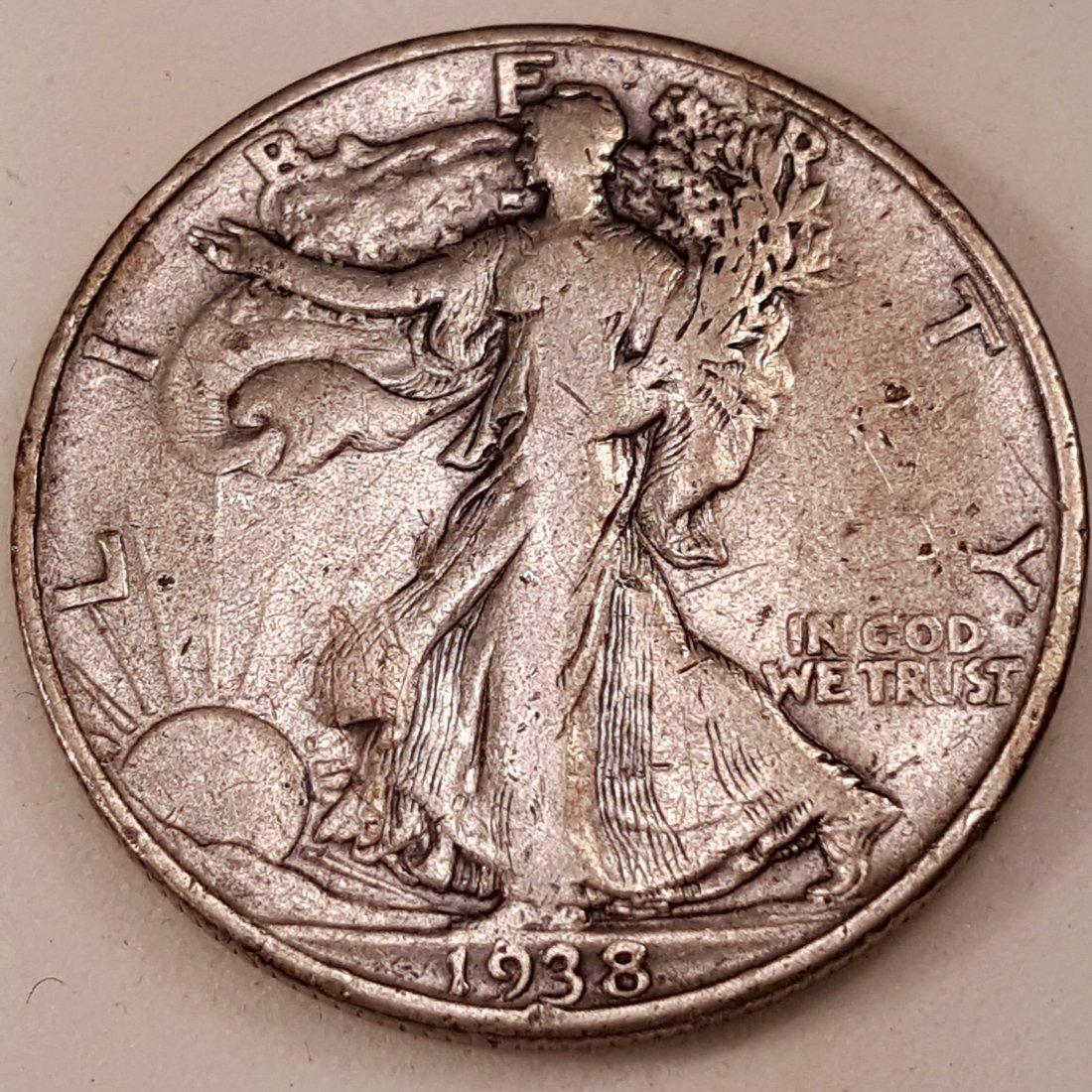 1938 -D 50C F