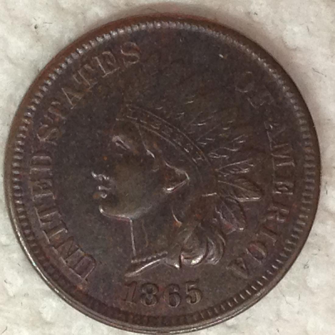 1865 1C AU FANCY 5