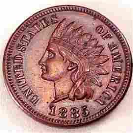 1885 1C MS63 BN