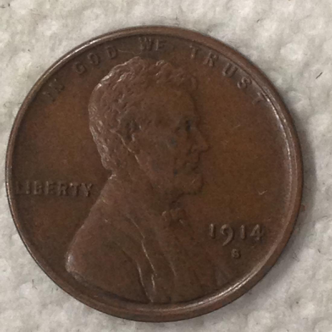 1914 -S 1C AU+ BN
