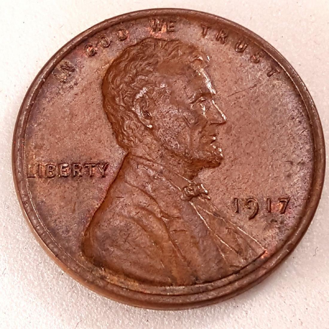 1917 1C MS64 BN