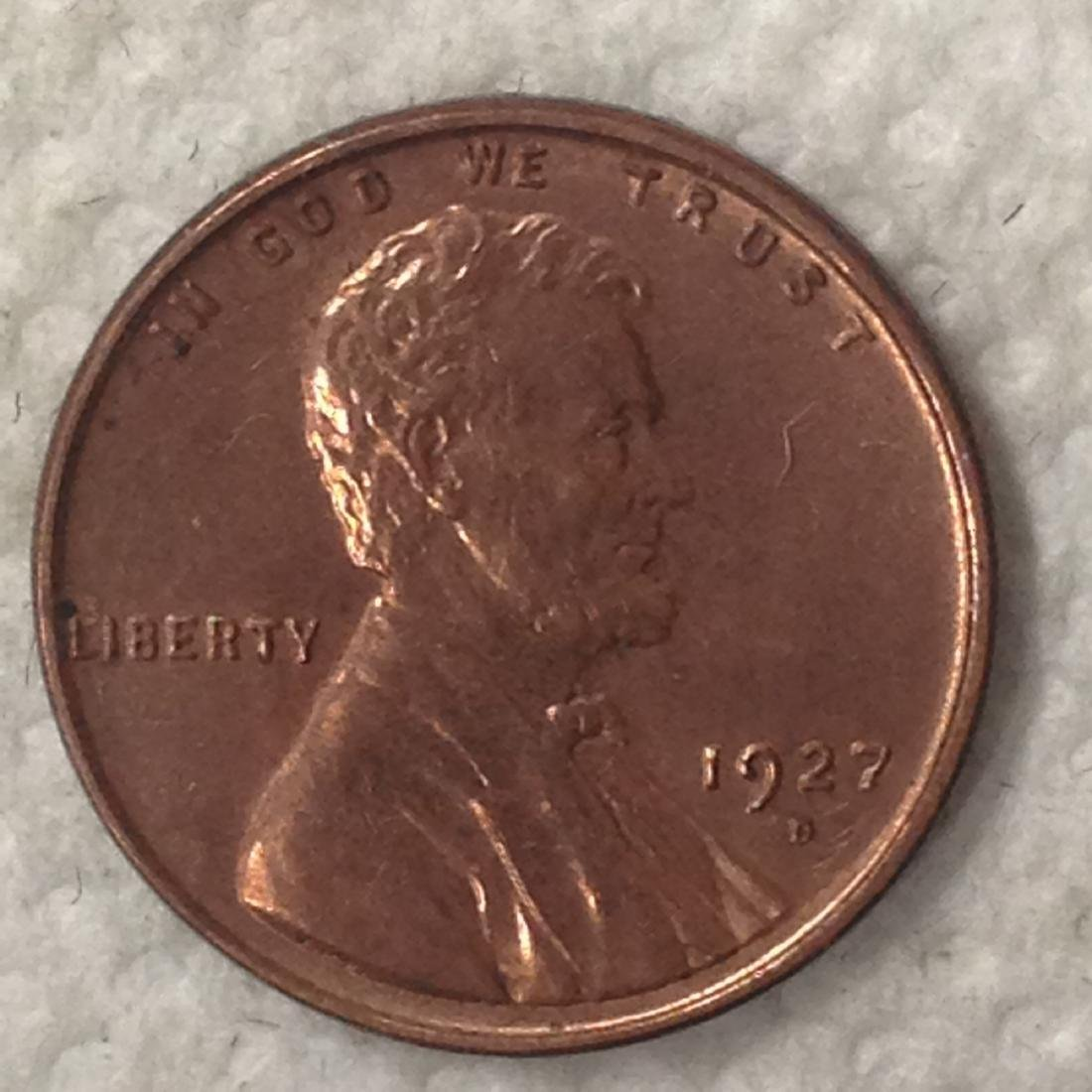 1927 -D 1C MS63+ RED