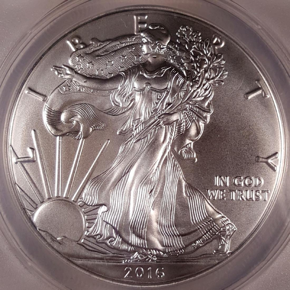 2016 ASE FIRST DAY OF ISSUE ANACS CERTIFIED - 2