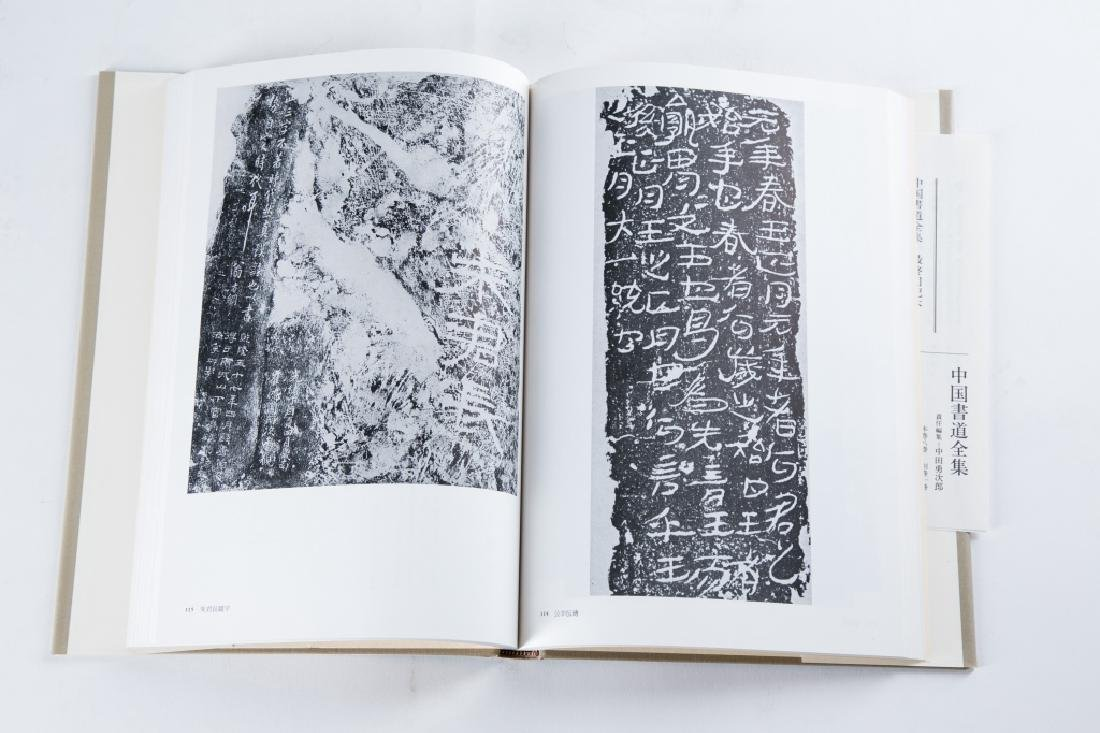 A SET OF NINE BOOKS OF ZHONGGUOSHUDAO - 2