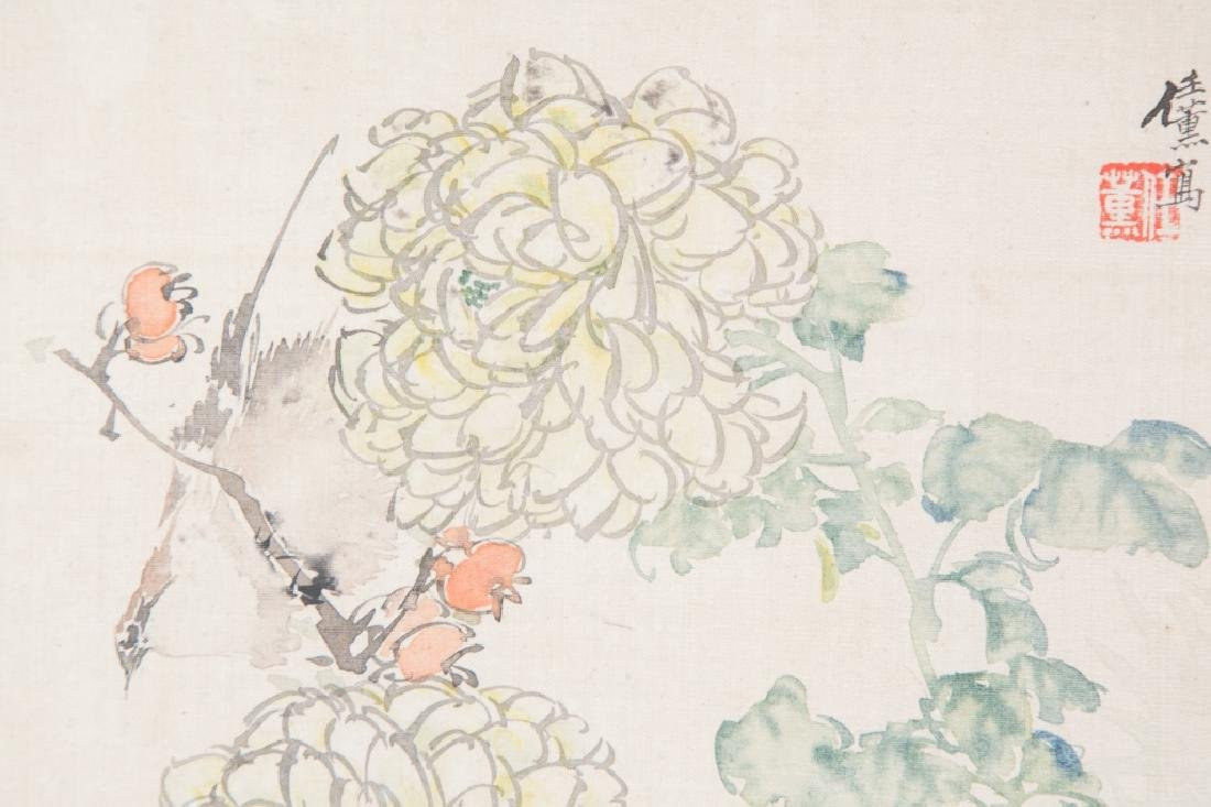REN XUN (1835-1893), FLOWER - 2
