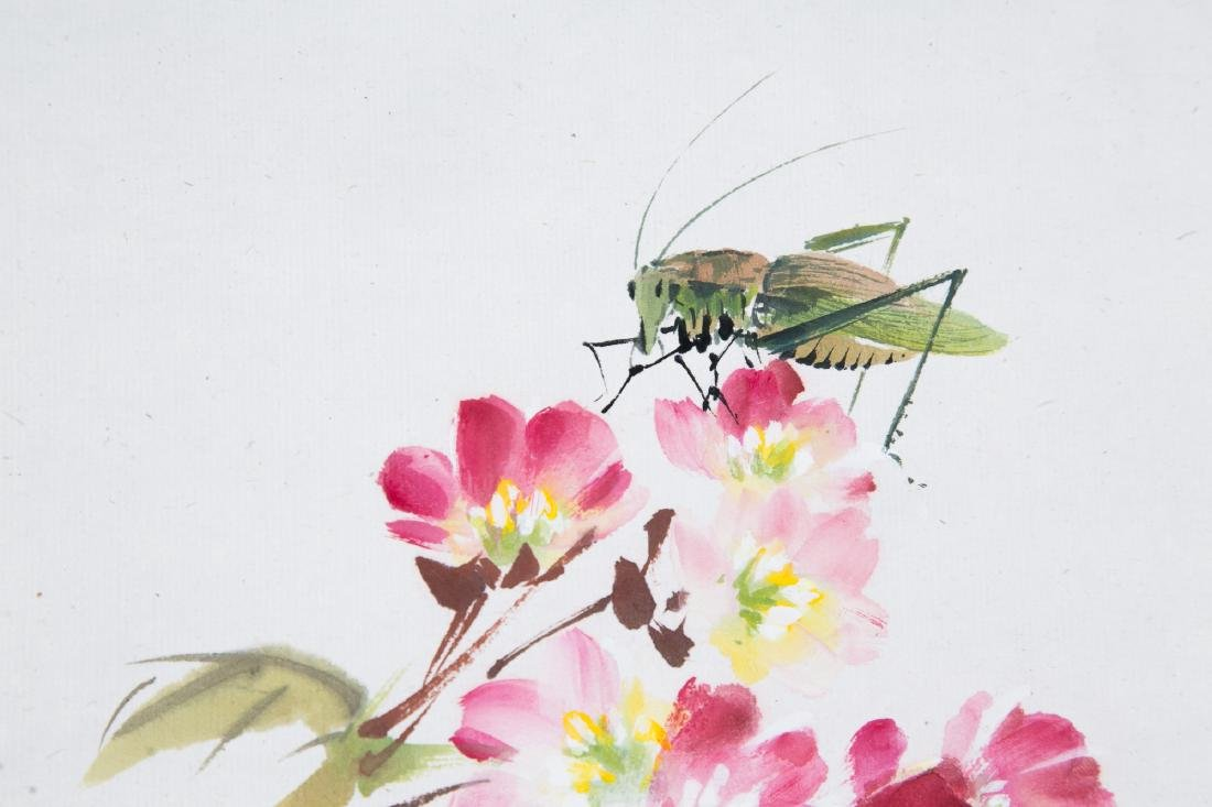 LIU ZIGU (1901-1986), BIRDS AND FLOWERS - 10