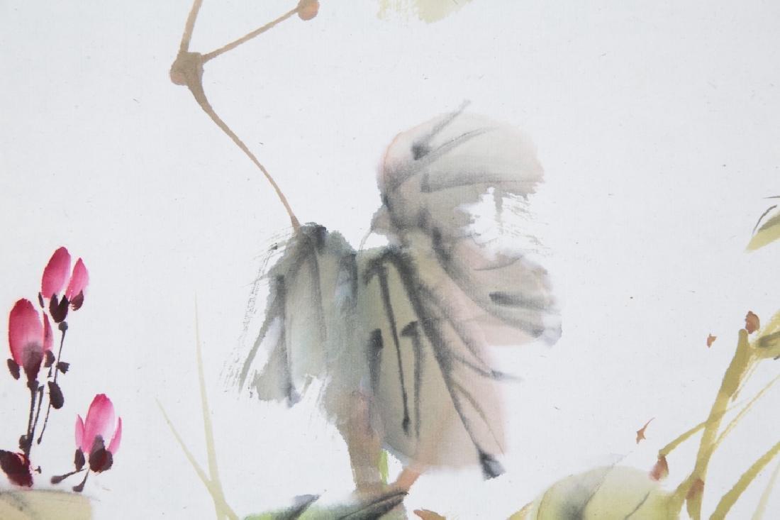 LIU ZIGU (1901-1986), BIRDS AND FLOWERS - 4